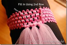 tulle dress without sewing | Strictly Homemade: How to Make Tutu–No Sewing Needed