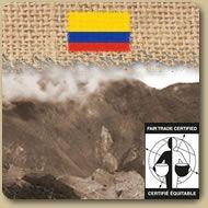 Équitable Bio - Colombien  Ce café colombien 100% équitable et biologique provient de la région de Popayan. Il démontre une saveur harmonieuse arrondie typique des meilleurs cafés colombiens. Il a une légère acidité (éclat) avec quelques notes de fines herbes dans sa finition. 454g (1 lb)  Prix: 10,85 $