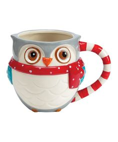 Take a look at this Boston Warehouse Snowy Owls Mug by An Owl a Day Collection on #zulily today!