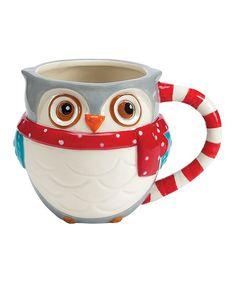 Love this Snowy Owls 15-Oz. Mug by Boston Warehouse on #zulily! #zulilyfinds