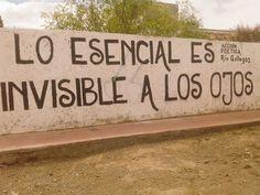 Lo esencial es invisible a los ojos #Accion Poetica Rio Gallegos #accionpoetica