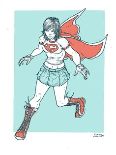 Supergirl by Ramon Villalobos *
