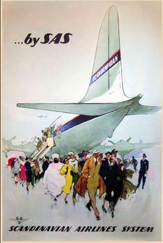 SAS ~ Scandinavian Airline Systems