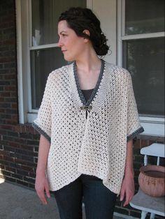 (6) Name: 'Knitting : Risotto Stitch Kimono Cardigan