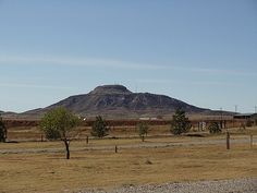 Tucumcari Mountain, Tucumcari, NM