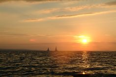 Sunset Celestial, Sunset, Outdoor, Speed Boats, International Waters, Sailing, Studying, Outdoors, Sunsets
