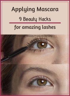 9 Easy Mascara Hacks for Amazing Lashes How To Make Mascara, How To Apply Eyeshadow, Eyelash Curling, Curling Eyelashes, Make Eyelashes Longer, How To Grow Eyelashes, Face Contouring Makeup, Eye Makeup Tips, Beauty Hacks