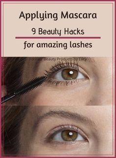 9 Easy Mascara Hacks for Amazing Lashes Make Eyelashes Longer, Perfect Eyelashes, How To Grow Eyelashes, Best Lashes, How To Make Mascara, How To Apply Eyeshadow, Applying Mascara, Eyelash Curling, Curling Eyelashes