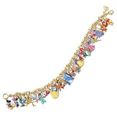 The Bradford Exchange have out done themselves yet again and released the Ultimate Disney Classic Charm Bracelet Featuring 37 Disney Characters.