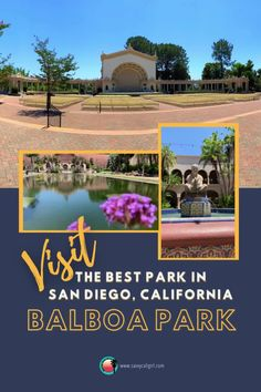 Coming to California? Visit Balboa Park in San Diego. It is full of museums, gardens and fun things to do with kids. The park is walkable, a dream photography location and certainly a must for travelers. Dream Photography, Air And Space Museum, Cali Girl, Lily Pond, California Travel, Park City, Museums, San Diego, Things To Do