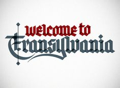 Welcome to Transylvania by Jackson Alves