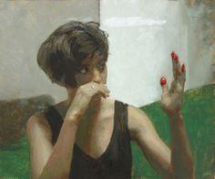 Rafel Bestard, The hand- 2016- olieverf op doek- 65 x 54 cm