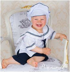LUKE - Matrosenanzug für einen grossen Tag! - Princessmoda - Alles für Taufe Kommunion und festliche Anlässe