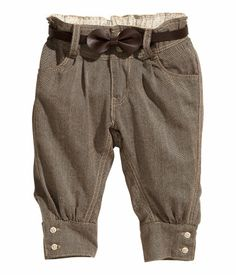 Product Detail | H&M US - fall little baby girl pants
