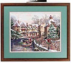 Christmas Cove cross stitch pattern cross stitch pattern