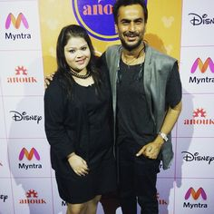 And look whom I met yesterday at the event.. AKI NARULA!!! Woohhooo.. the most famous fashion designer of bollywood. An awesome personality with the heart of gold n beautiful nature... thank uuu Aki...!! #hercreativepalace #event #myntra #disneygoesdesi #met #akinarula #fashiondesigner #bollywood #gossips #amazingperson #muchlove #gem #blogger #delhi #india