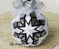 Items similar to Gold dream Christmas ornament patchwork ornament xmas baubles quilted ball ornaments Christmas baubles gold ornaments wedding ornaments on Etsy Quilted Fabric Ornaments, Quilted Christmas Ornaments, Metal Christmas Tree, Gold Ornaments, Christmas Booth, Christmas Favors, Christmas Tree Decorations, Christmas Crafts, Christmas Ideas