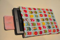 Kindle Case-- now I have a sewing machine and maybe this could fit the WiiU remote in this