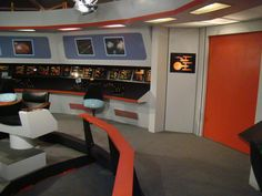TOS Bridge Faragut Films Starship Sets Studio