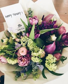 Happy Friday! @andotherstories teamed up with @marsanoberlin to bring you beautiful bouquets like this - available in their store on Neue Schönhauser Strasse until April 9th