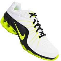 4c777bbb5c Tênis Nike Impax Atlas 4 SL Masculino Branco   Verde   Preto