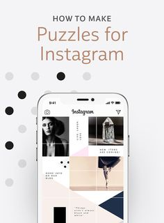 How to Make a Puzzle on Instagram: 15 Ready-to-Use Kits Instagram Grid, Instagram Posts, Watercolor Font, Branding Tools, Simple Aesthetic, Creative Inspiration, Design Inspiration, Instagram Post Template, Create Photo