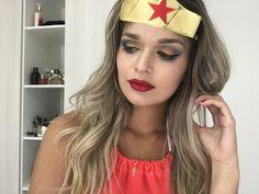 Make de Carnaval, mulher maravilha , corre lá no canal que tem tutorial https://youtu.be/XQ1KlqImh7o vídeos com tutorial de make de carnaval, corre lá