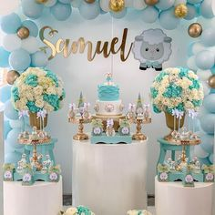 Inspiring you to create the most amazing baby shower anyone has ever seen! Making your friends and family envious of your design skills! Cadeau Baby Shower, Idee Baby Shower, Baby Shower Sweets, Shower Bebe, Baby Shower Parties, Baby Boy Shower, Diy Birthday Decorations, Baby Shower Decorations For Boys, Boy Baby Shower Themes