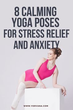 Here are the most popular yoga poses for stress relief | #yoga #streess Asana Yoga Poses, All Yoga Poses, Yoga Sequences, Exercises, Workouts, Stretches For Flexibility, Yoga Pictures, 30 Minute Workout, Yoga Poses For Beginners