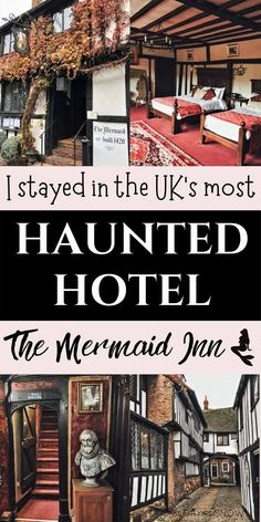 I spent the night at the most haunted hotel in the UK - check out these bone-chilling ghost stories from The Mermaid Inn! | haunted hotels | haunted locations | paranormal | places to see in the UK | quirky hotels | UK hotels | UK travel | unique hotels | UK weekend ideas | places to see near London | haunted England | ghost stories | ghost sightings | day trips from London | haunted hotel photography | #haunted #travel #hauntedhotel #spooky #ghost #hauntedlocations #quirky #eerie Scotland Travel Guide, Europe Travel Tips, Travel Guides, Haunted Hotel, Most Haunted, Beautiful Places To Travel, Best Places To Travel, Holiday Destinations, Travel Destinations