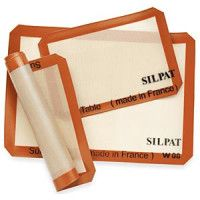 Silpat - non-stick silicone baking mats! No more cookies stuck to the pans!