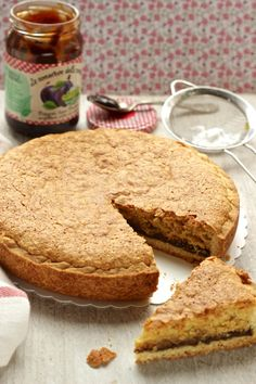 the grandmother's preserves and the Cattelani cake Cookbook Recipes, Cake Recipes, Dessert Recipes, Italian Desserts, Italian Recipes, Cheesecakes, Nutella, Jam Tarts, Savarin