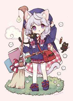 もかろーる🐹11月大阪3人展 (@mokarooru_0x0) / Twitter Loli Kawaii, Kawaii Chibi, Kawaii Art, Kawaii Anime Girl, Anime Art Girl, Chibi Girl Drawings, Cute Kawaii Drawings, Cute Anime Character, Character Art