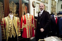 Savile Row London Collections Keith Levett (Tailor at Henry Pooles)