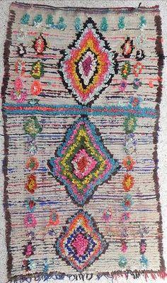 Ravissant tapis au style naïf - batixa
