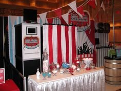 Stand out at trade shows with a customized ShutterBooth Photobooth! Booth Branding (ShutterSkinz) and a custom curtain to match your theme and draw the crowd in.