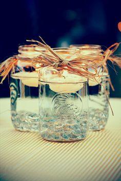 Lightful Wedding Centerpiece Ideas with Candles