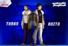 Thran & Ahito Galactik Football, Mars, Naruto, Sports, Movies, Movie, Cartoon, Hs Sports, March