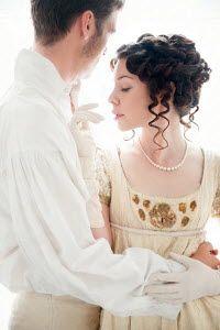 Lee Avison young regency couple embracing