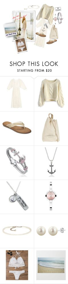 """""""Come sail away with me"""" by caroline-buster-brown ❤ liked on Polyvore featuring Zimmermann, Chicwish, A2 by Aerosoles, Brunello Cucinelli, Chart Metal Works, Movado and Kenneth Jay Lane"""