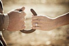 a ranch engagement shoot - Melissa Dunstan Photography