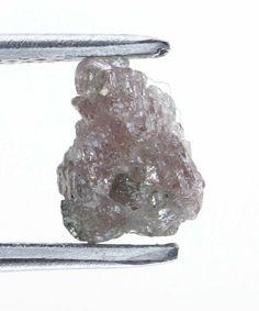 0.55 Carats Pinkish Beautiful Real Raw Uncut Natural Rough Diamonds