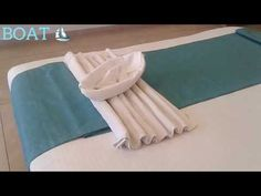 #1 Towel Boat ⛵ - YouTube