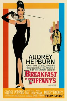 Classic Holly Golightly.