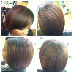 Multi Tonal brown with a hint of custom cherry wine to spice it up!