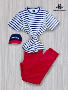 Sporty outfit offer #saxoolondon #menswear #mensfashion #striped #sporty #cap #redlove