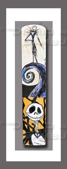 JACK Palheta de Saxofone Barítono / Baritone Saxophone reed Técnica mista (Tinta da china, acrílico e lápis de cor)/ Mixed techniques (Indian ink , acrylic and colour pencil)