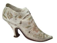 Shoe, ca 1670-1739, Musee International de la Chaussure