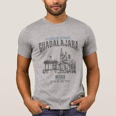 Guadalajara T-Shirt  $26.35  by KDRTRAVEL  - cyo diy customize personalize unique