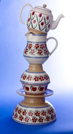 Nicholas Mosse Pottery Irish Pottery, Cornishware, Pottery Making, Tea Pots, Ireland, Favorite Things, Homes, Interiors, Dishes